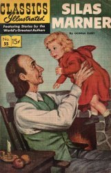 Gilberton Publications's Classics Illustrated #55: Silas Marner Issue # 1h
