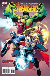 Marvel Comics's Avengers Issue # 672nycc