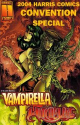 Harris Comics's Vampirella / Witchblade: Union of the Damned Issue # 1e