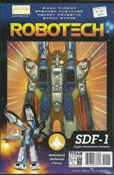 Titan Comics's Robotech Issue # 21b