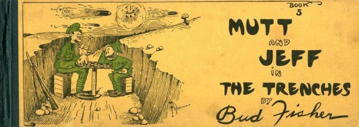 Ball Publishing's Mutt and Jeff Cartoon Hard Cover # 5