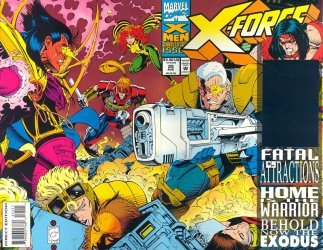 Marvel Comics's X-Force Issue # 25