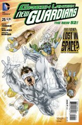 DC Comics's Green Lantern: New Guardians Issue # 25