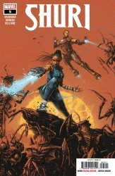Marvel Comics's Shuri Issue # 5