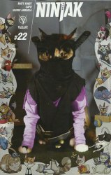 Valiant Entertainment's Ninjak Issue # 22c