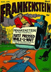 PS Artbooks's Roy Thomas Presents: Briefer Frankenstein Hard Cover # 4b