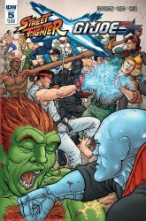 IDW Publishing's Street Fighter x G.I. Joe Issue # 5