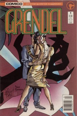 1986 Series comico #33 Fine Comics Book Grendel