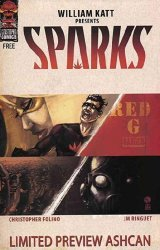 Catastrophic Comics's Sparks Issue ashcan