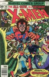 Marvel Comics's X-Men Issue # 107