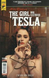 Titan Comics's Hard Case Crime: Minky Woodcock - The Girl Who Electrified Tesla Issue # 1c