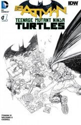 DC Comics's Batman / Teenage Mutant Ninja Turtles Issue # 1captains-b