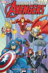 IDW Publishing's Marvel Action: Avengers Issue # 8ri
