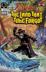 American Mythology's Zorro: In The Land That Time Forgot Issue # 1b