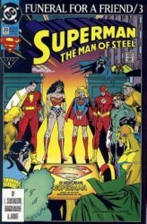 DC Comics's Superman: The Man of Steel Issue # 20