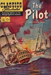 Gilberton Publications's Classics Illustrated #70: The Pilot Issue # 70f