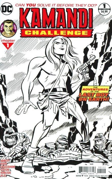 DC Comics Kamandi The Last Boy on Earth #6 VF/NM+ 1973
