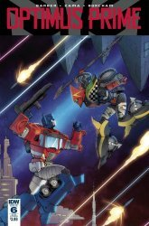 IDW Publishing's Optimus Prime Issue # 6sub