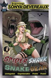 American Mythology's Starring Sonya Devereaux: Spider-Shark vs Snake-Bear Issue # 1