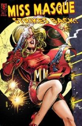 AC Comics's Miss Masque Strikes Back Issue # 1