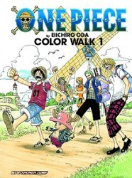 Shonen Jump Manga's Art of Shonen Jump: One-Piece - Color Walk Soft Cover # 1