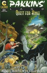 Caliber Comics's Pakkins' Land: Quest for Kings Issue # 3