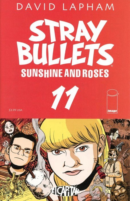 Image Comicss Stray Bullets Sunshine And Roses Issue 11
