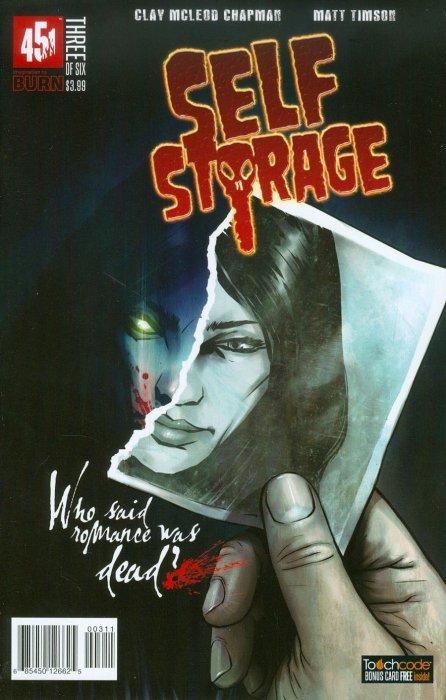 SELF STORAGE #2 #3 451 COMIC HORROR ZOMBIES CLAY CHAPMAN WALKING DEAD TIMSON NM