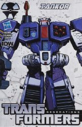 IDW Publishing's Transformers Generations: Deluxe Series 5 Issue # 3