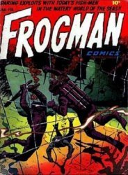 Hillman Publications's Frogman Comics Issue # 1