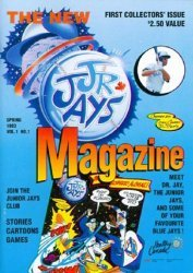 Canadian Airlines's Jr. Jays Magazine  Issue # 1