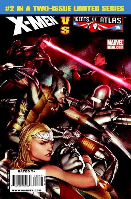 X-Men vs Agents of Atlas 1 (Marvel Comics ... Venus Agents Of Atlas