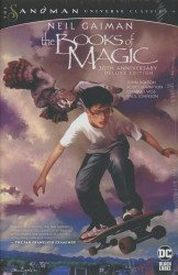 Vertigo's Books Of Magic - Deluxe Edition Hard Cover # 1anniversary