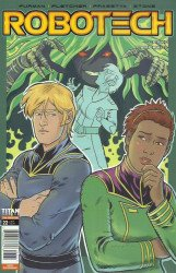 Titan Comics's Robotech Issue # 22c