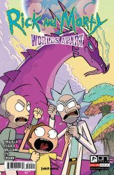 Oni Press's Rick and Morty: Worlds Apart Issue # 4b