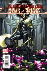 Marvel Comics's Secret Invasion: War of Kings Issue # 1