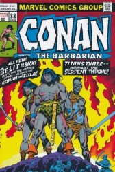 Marvel Comics's Conan the Barbarian: Original Marvel Years Omnibus  Hard Cover # 4b