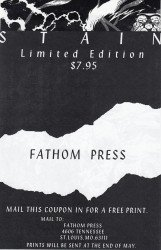Fathom Press's Stain Issue # 1c
