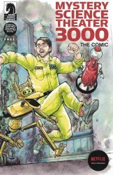Dark Horse Comics's Mystery Science Theater 3000: The Comic Issue ashcan