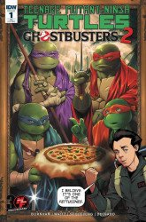 IDW Publishing's Teenage Mutant Ninja Turtles / Ghostbusters II Issue # 1heroes & fantasy