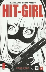 Image Comics's Hit-Girl Issue # 5b