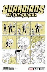 Marvel Comics's Guardians of the Galaxy Issue # 3b