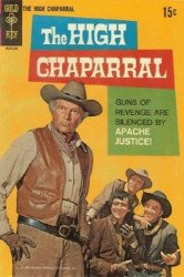 Gold Key's High Chaparral Issue # 1b