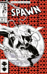 Image Comics's Spawn Issue # 300 - 4th print