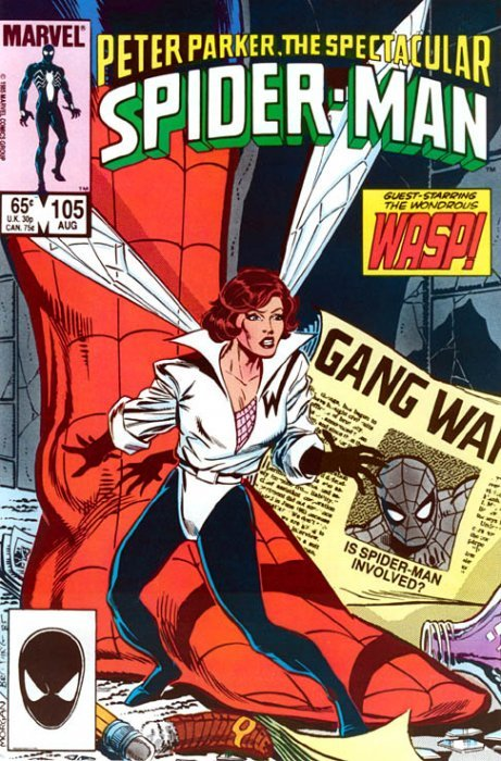 SPECTACULAR SPIDER-MAN 122 123 124 125 UNREAD 1987