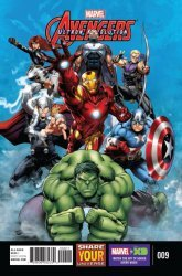 Marvel Comics's Marvel Universe Avengers: Ultron Revolution Issue # 9