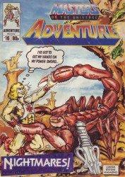 London Editions Magazines's Masters of the Universe Adventure Issue # 16