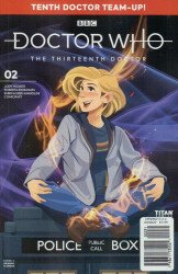 Titan Comics's Doctor Who: 13th Doctor - Season 2 Issue # 2c