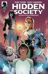 Dark Horse Comics's Hidden Society Issue # 1