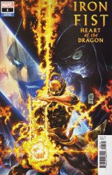 Marvel Comics's Iron Fist: Heart of the Dragon Issue # 1b